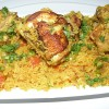 Arroz Con Pollo ( Chicken & Rice ) Classic Spanish Dish